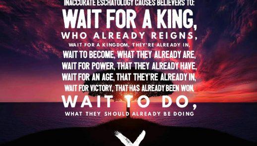 Kingdom Now, Part 2