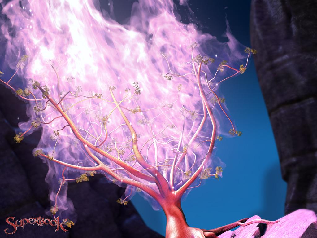 Burning Bush & Flaming Sword